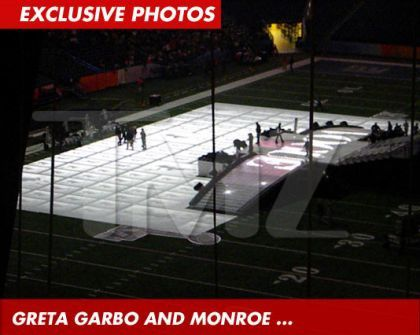 Madonna's Halftime Show Super Bowl Stage