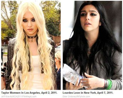 Panda Eyes Faceoff: Taylor Momsen vs. Lourdes