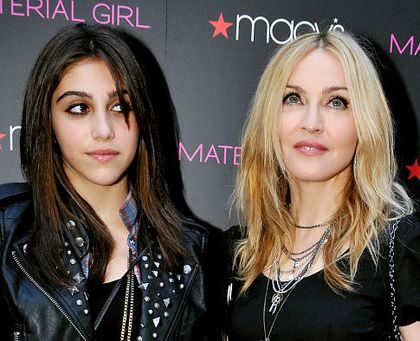 Madonna's mom moment with Lourdes at launch of clothing line