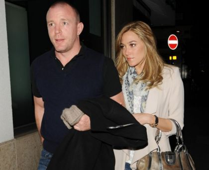 Guy Ritchie pictured with Madonna look-a-like
