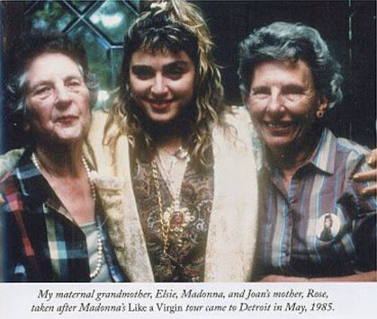 Life - Madonna will fly to… - Madonna's… - RIP Elsie Fortin ...