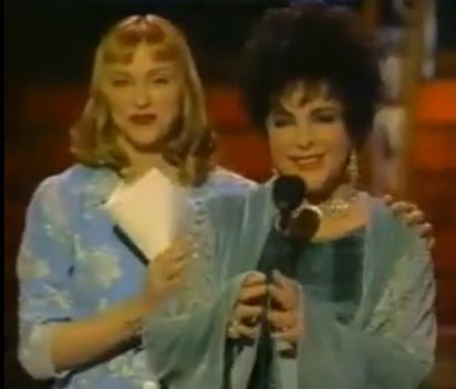 Madonna wanted to be Elizabeth Taylor