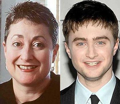 stars maman Daniel Radcliffe