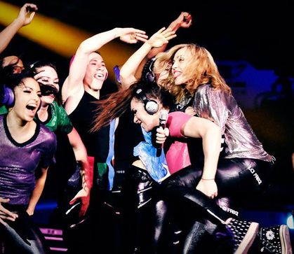 Madonna - MDNA Tour: Even more photos from dress rehearsals