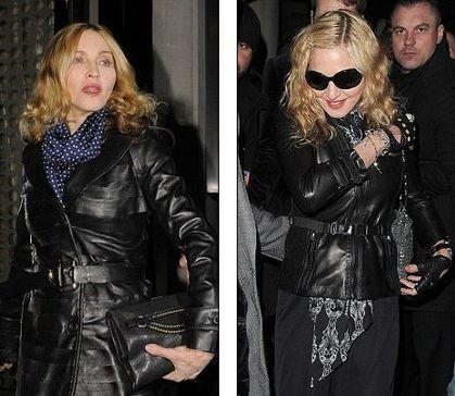 Madonna's dancers paid £40k cash to visit London Aura club