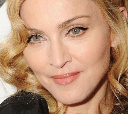 Madonnas face shows its age