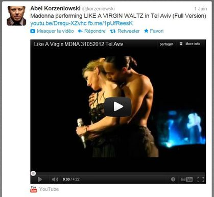 Madonna - MDNA Tour: ''Like A Virgin Waltz''