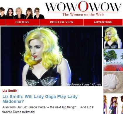 Liz Smith: Will Lady Gaga Play Lady Madonna?