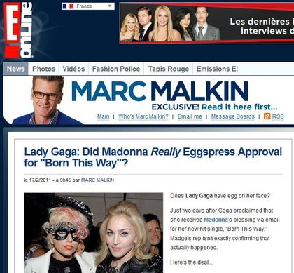 Did Madonna Really Eggspress Approval for Lady Gaga's 'Born This Way'