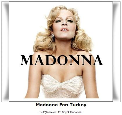 Forum: Madonna Fan Turkey