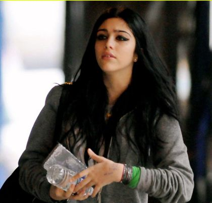 Madonna's daughter Lourdes on her way to school in NY - April 7, 2011