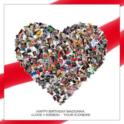 Iconers' 2010 Birthday Card for Madonna