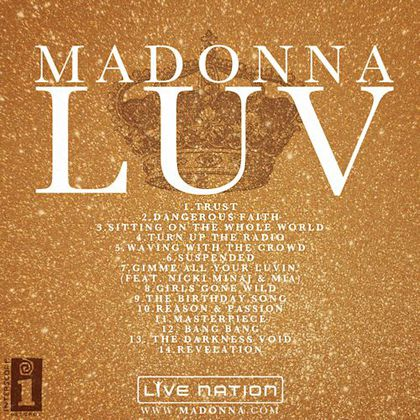 Madonna's New Album 2012: Title, Track Listing, Date and Cover?!