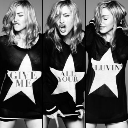 Madonna's ''Give Me All Your Luvin' '': Official Cover