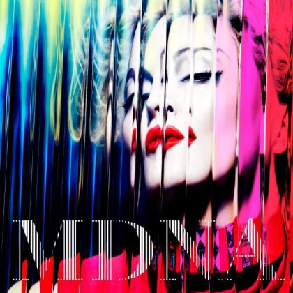 Madonna - ''MDNA'': Official Album Cover