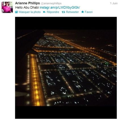 Madonna - MDNA Tour: Arriving in Abu Dhabi