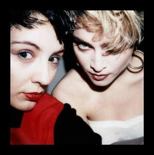 Photo: Madonna with French designer Maripol