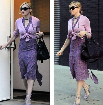 Madonna steps out in sophisticated and mature outfit