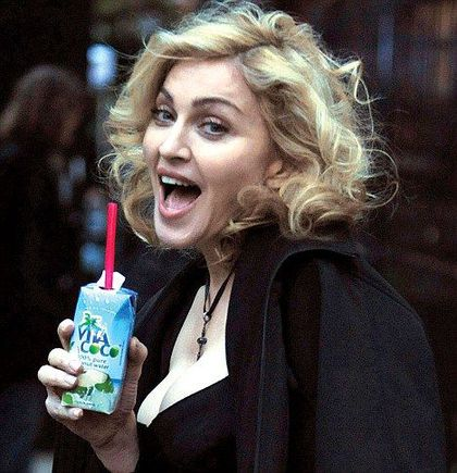 Madonna and co swear by the benefits of fruit's water