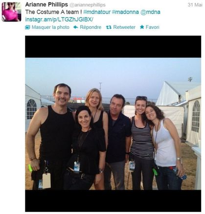 Madonna - MDNA Tour: The Costume Team
