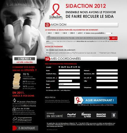 Madonna Fans' World supports SIDACTION 2012