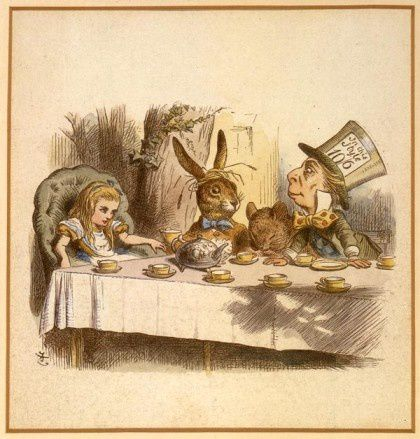morgan-sir-john-tenniel-mad-tea-party-420x439