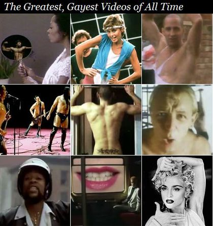 Madonna in 'The Greatest, Gayest Videos of All Time' list