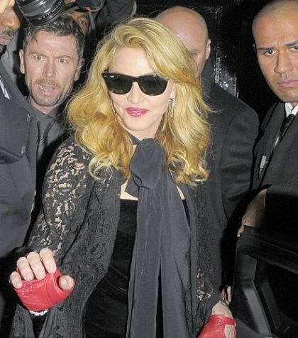 Madonna at UK premiere of ''W.E.'': After-party - January 11, 2012