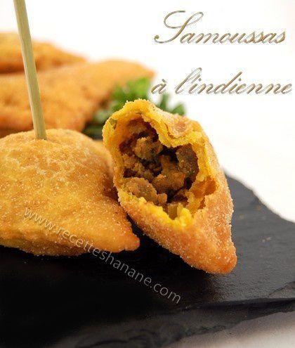 Samoussas l 39 indienne recettes by hanane - Cuisine indienne facile ...