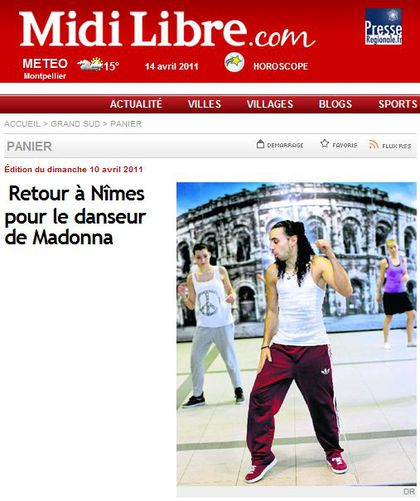 Norman Shay: ''I am Madonna's fitness coach and looks after Rocco''