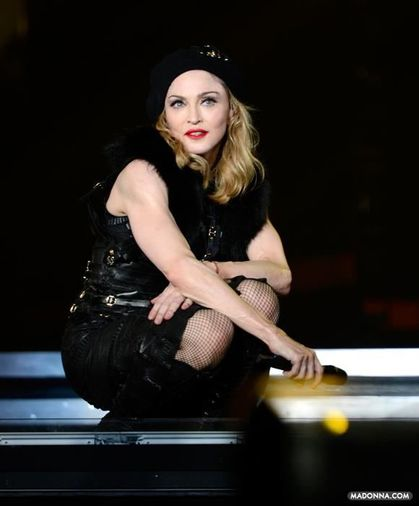 Madonna - MDNA Tour: Photos from the Opening Night