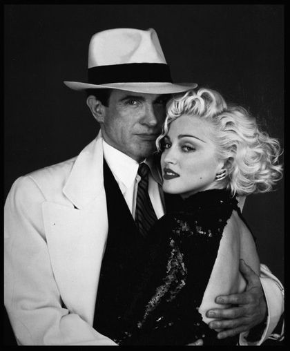 Photos: Madonna and Warren Beatty