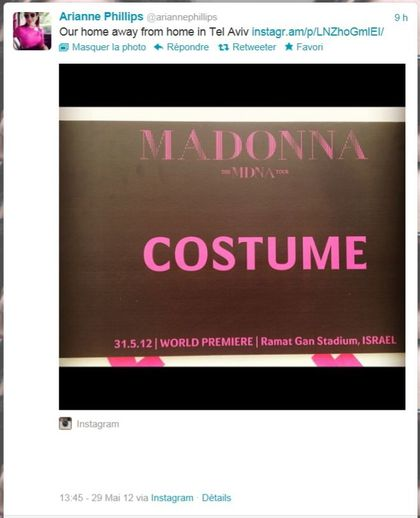 Madonna - MDNA Tour: 31.05.12 - WORLD PREMIERE - Ramat Gan stadium, ISRAEL