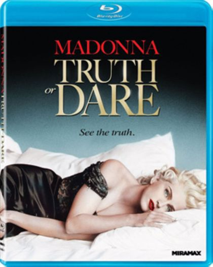 Madonna's ''Truth or Dare'' coming to Blu-ray on April 3, 2012