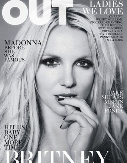 Britney Spears - Out April 2011 cover