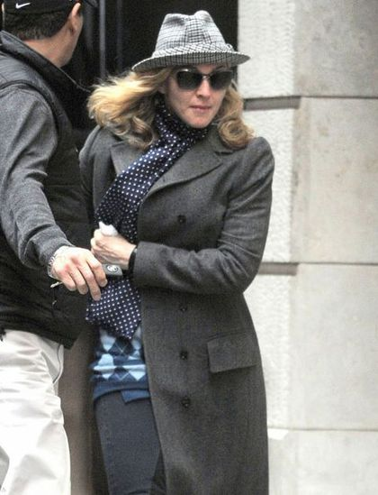Madonna at the Kabbalah centre in New York - April 16, 2011