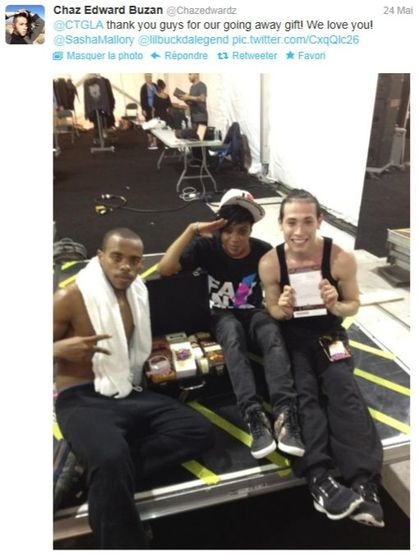 Madonna - MDNA Tour: Dancer Chaz Edward Buzan