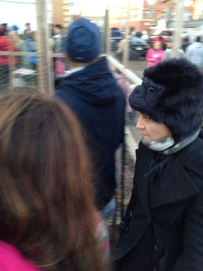 Madonna visits Sandy-Damaged Rockaways in New York - November 11, 2012