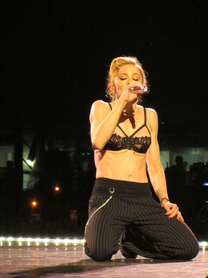 Madonna - MDNA Tour: Fans pictures from the show in Milan