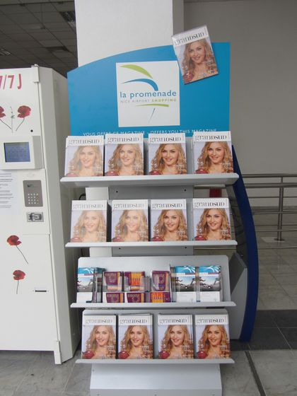 Madonna - MDNA Tour: Magazine ''Grand Sud'' in Nice, France