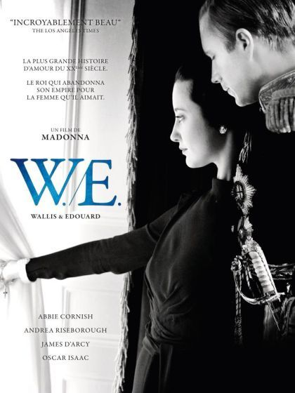 Madonna's movie ''W.E.'': Official Poster for France