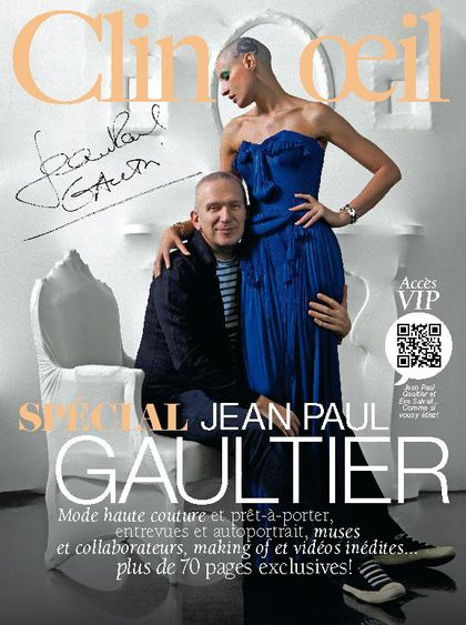 Jean Paul Gaultier Exhibition: ''Clin d'oeil'' magazine special edition
