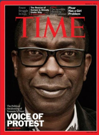 Youssou N'Dour Time 26:02:2012 www.legrigriinternational.co
