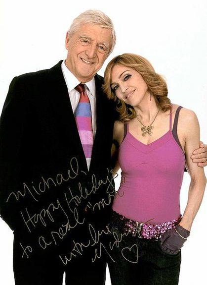 Michael Parkinson and Madonna