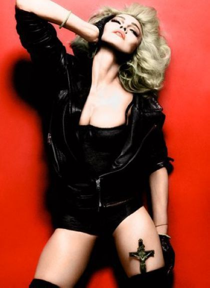 Madonna in Interview Magazine: photo in color