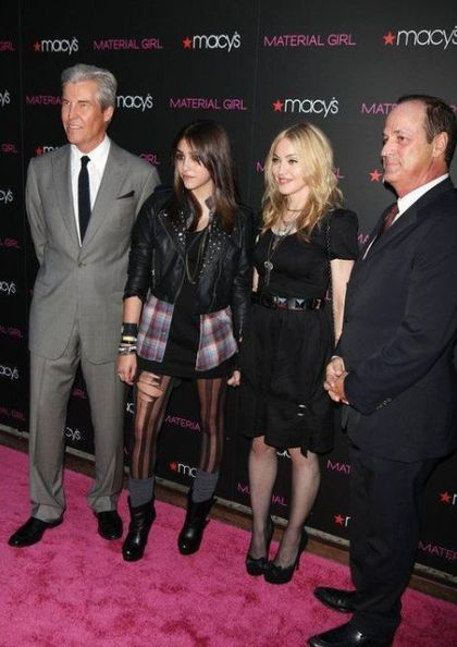 More pictures from Madonna's Material Girl Dance Party at Macy's