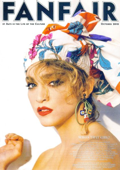 Madonna in new issue of ''Vanity Fair'' magazine: Herb Ritts Outtake