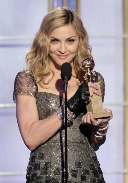 The Press on Madonna at 2012 Golden Globe Awards