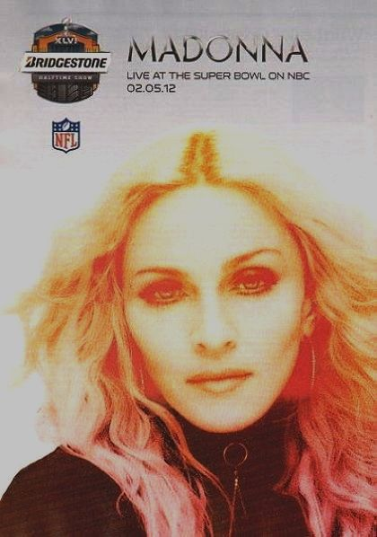 Superbowl ad with Madonna in US magazine ''Rolling Stone''