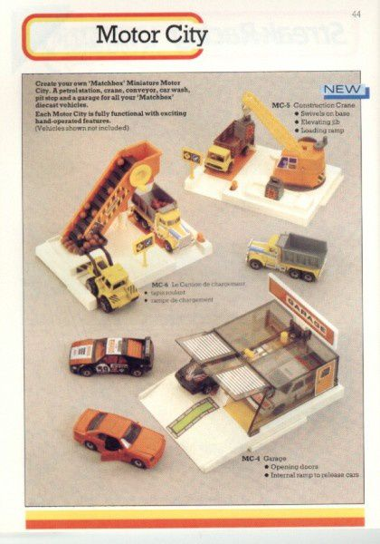 catalogue matchbox 1986 p44 motor city